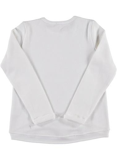 012 Benetton Sweatshirt Beyaz